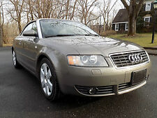 2005 Audi A4 Cabriolet Convertible 2-Door