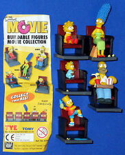 Simpsons 5 x Figuren Movie collection Tomy Satz
