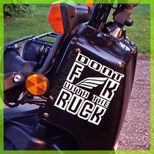 "Decal Dino™ ""Don't F"" Fits Honda Ruckus Vinyl Sticker Moped Scooter graphic part"