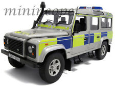 UNIVERSAL HOBBIES 3885 LAND ROVER DEFENDER 110 STATION WAGON UK POLICE 1/18