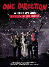 ONE DIRECTION Where We Are Live From San Siro Stadium DVD BRAND NEW NTSC R0