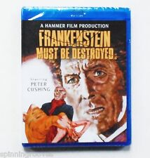 FRANKENSTEIN MUST BE DESTROYED (Blu-Ray) A Hammer Film Production ~ Horror ~ NEW