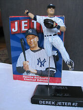 NY YANKEES STADIUM ONLY DEREK JETER STATUE SGA SPORTS AUTHORITY LIMITED EDITION