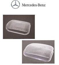 Mercedes R170 W203 C240 Set of 2 Front Fog Light Lens Genuine NEW