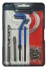 DZ-COIL THREAD REPAIR 3/8-24 UNF COMPLETE TOOL KIT WITH FREE RUNNING S/S INSERTS