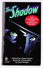 1994 paperback THE SHADOW by James Luceno - movie novelization
