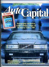 AUTO CAPITAL # N.8 Agosto 1985 # Rivista Mensile