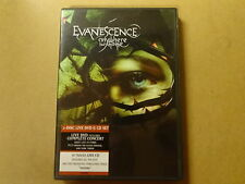 MUSIC DVD + CD / EVANESCENCE - ANYWHERE BUT HOME