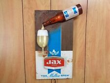 Vtg Jax Beer Night Light Bar Sign Jackson Brewing Co Jax FL New Orleans LA