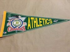 MLB Oakland A's 1990 American League Champions Back to Back Pennant