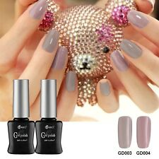 3PCS RS 053-146-303 Gel Nail Polish UV LED Glitter Grey Varnish Soak Off 0.5oz