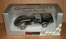 1/18 Chevrolet Corvette Indy 500 Pace Car Diecast Model - 1978 Corvette C3 Coupe
