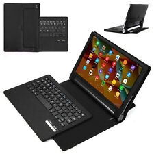 Removable Bluetooth Keyboard Leather Case Stand Cover For Lenovo Yoga 3 Pro 10""
