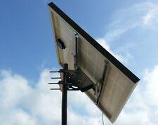 Supporto testapalo per pannello solare fotovoltaico max 100W  staffa testa palo