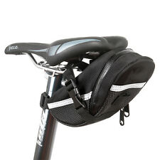 Black Rear Storage Seat Waterproof Bag Pouch Bike Bicycle Saddle New Tail AO