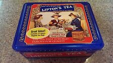 "VTG LIPTON NOSTALGIC TIN COLLECTION #401 ""Honest Tea is the Best Policy"""