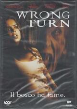 Dvd video **WRONG TURN ~ IL BOSCO HA FAME** nuovo sigillato 2004