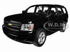 2008 CHEVROLET TAHOE STREET VERSION BLACK 1/24 DIECAST MODEL BY WELLY 22509