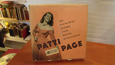 Patti Page, Box Set, Mercury 1025, 45 rpm records in sleeves