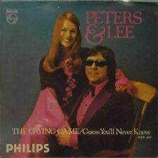 "PETERS & LEE 'THE CRYING GAME' UK PICTURE SLEEVE 7"" SINGLE"