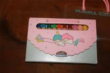 vtg 1976 SANRIO Little Twin Stars Playful Colors case Japan