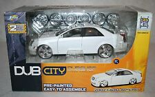 Jada Toy Dub City Dubshop 2002 Cadillac CTS Diecast Model Kit 2004 1/24 MISB