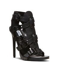 Steve Madden Nativee Strappy Sandals Heels Leather 8,5