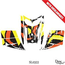 SKI-DOO REV MXZ SNOWMOBILE SLED WRAP GRAPHICS STICKER DECAL KIT 03-07 SL0322