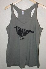 NWOT Next Level Apparel Tank with Mama Bird Print / Green / Extra Large