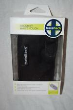 Traveltech 9013 Travel Security Waist Pouch 3 Zippered Compartments New W/ Box