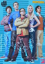 THE BIG BANG THEORIE - Autogrammkarte - Autograph Autogramm Clippings Sammlung