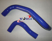 For Nissan Skyline R33 R34 GTS Silicone Radiator Hose Blue