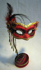 Venetian Mask Ring and Jewelry Holder
