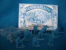 Armies in Plastic # 5550 John Stark's Rangers - Quebec 1759  (Blue) Toy Soldiers