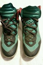 Nike Zoom HyperEnforcer XD Basketball Green / Black Mens Sz 9 Used