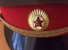 RUSSIAN RED ARMY MILITARY HAT Russia [Size 57]