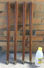 Retro Mid Century Dining or Kitchen Table Wooden Legs
