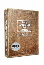 The World At War Complete 11 Discs Collection Box Set 11 UK REGION 2 DVD