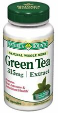 Nature's Bounty Green Tea Extract 315 mg Capsules 100 ea