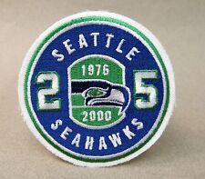1976-2000 SEATTLE SEAHAWKS 25 Year football uniform patch MINT