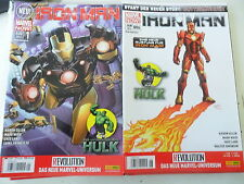 11 x Comic - Marvel Now -Iron Man  Band 1-11 - Panini - Z.sehr gut