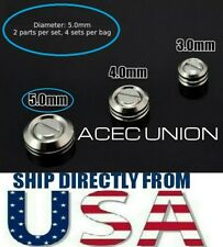 U.S. SELLER - 4 x Metal Armor Detail-up Φ 5mm Covered Screws For MG HG PG Gundam