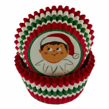 Elf on the Shelf Christmas Mini Baking Cups 50 ct from Wilton #8550- NEW