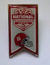 2015 Alabama National Champions Pin - Banner