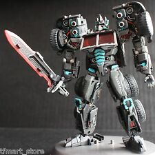 Custom Transformers Classics/Universe G2 Optimus Prime Black Evil Version