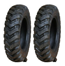Two Titan Trac Loader 5.70-12  New Holland Skid Steer Chevron Tires Made in USA