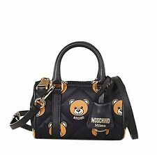 AW15 MOSCHINO COUTURE X Jeremy Scott Quilted Bear Mini Handle Bag READY TO BEAR