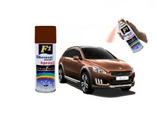 F1- Multi Purpose Lacquer Aerosol Paint Spray For Car/Bike/Metal - MISSION BROWN