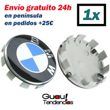 1 x Tapa Llanta Emblema Logo BMW 68mm Azul Blanco Centro Rueda Serie 1 3 5 6 7