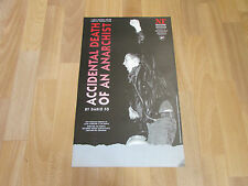 ACCIDENTAL DEATH OF AN ANARCHIST by Dario Fo ROYAL NATIONAL Theatre Poster